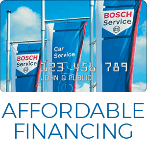 Affordable financing from Bosch Service